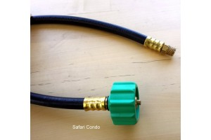 Tuyau flexible réservoir propane 1/4 po Alto