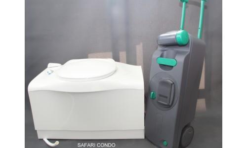 Cassette toilet