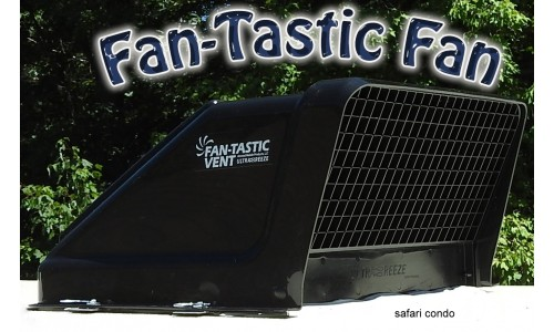 Couvercle de ventilateur Fan-Tastic ultrabreeze noir