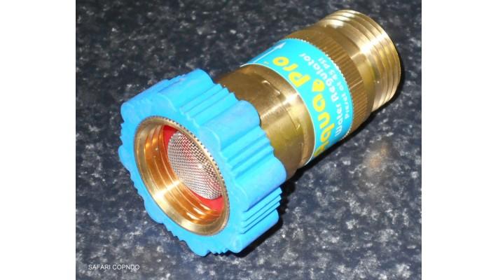 Régulateur de pression d'eau pour V.R.