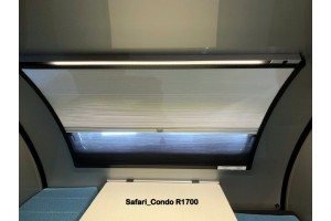 Combo toile/moustiquaire pour fenêtre- Duo plissé