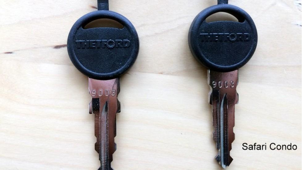 Ensemble de clés pour coffre de rangement Alto