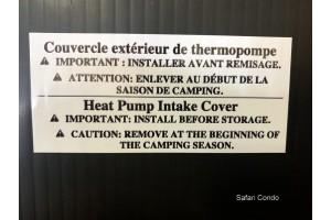 Coroplast pour air climatisé Alto