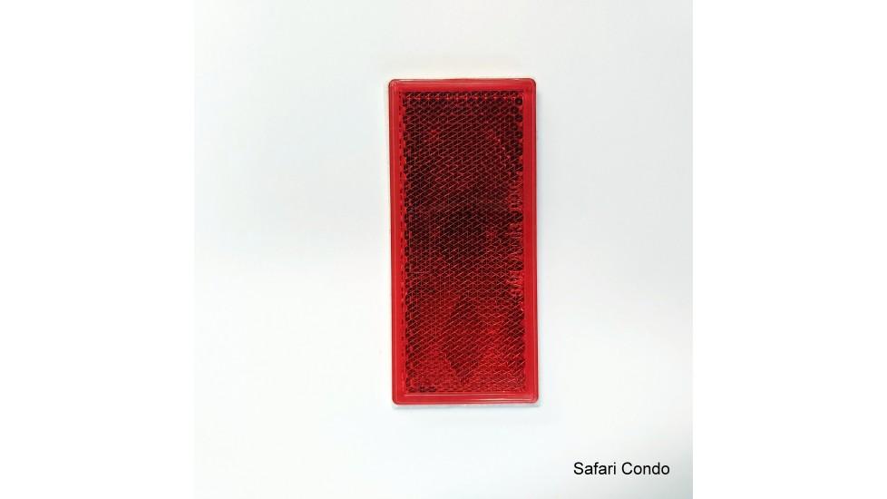 Réflecteur / autocollant / rouge