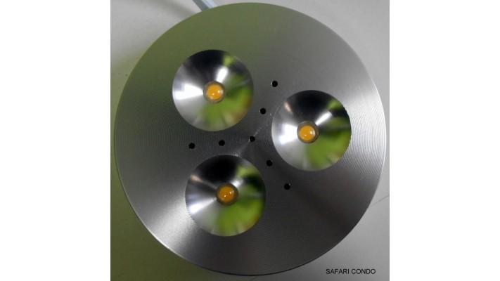 Lumière 3 LED encastrable 3 pouces