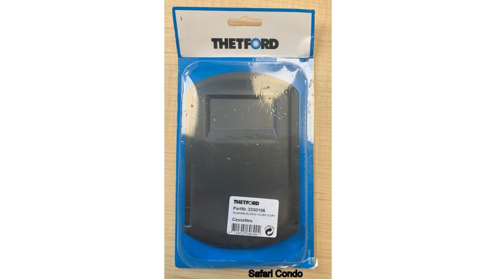 Couvercle coulissant de toilette a cassette Thetford