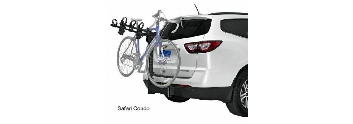 3x presque Rider Alu Porte-vélos dachfahrradträger Support vélo verrouillable