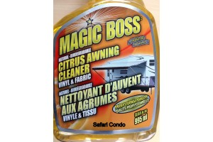 Nettoyeur de toiles d'auvent Magic Boss